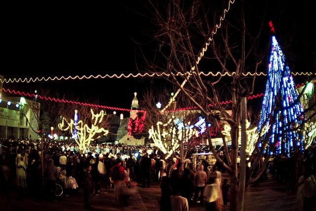 Christmas in Bethlehem, Palestine
