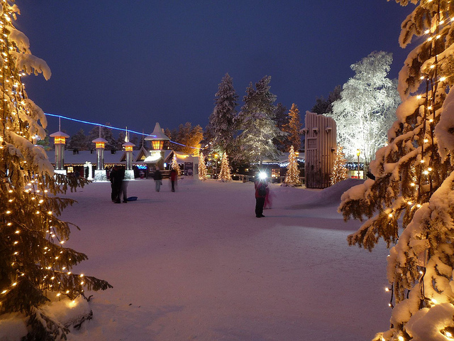 Christmas in Lapland, Finland