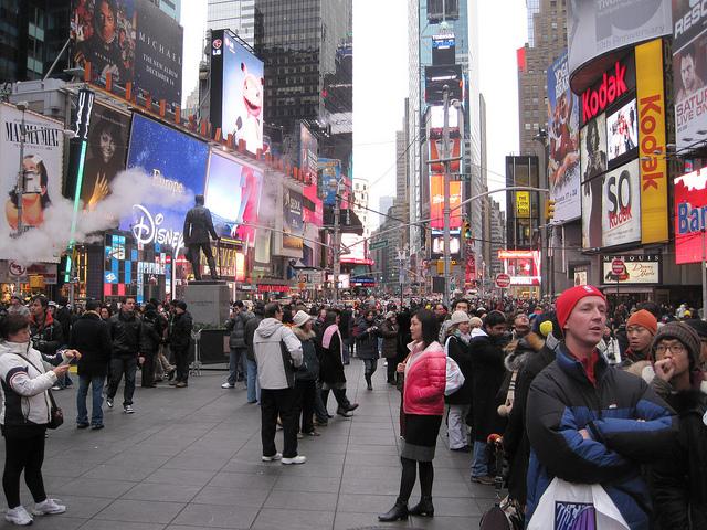 Christmas in New York City, New York