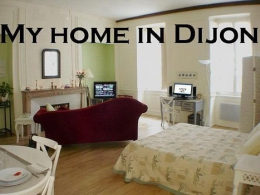 For a romantic or cultural break, in the heart of the historic town of Dijon, go no further than My home in Dijon. It will meet your requests of charm and comfort. For 2 pers min 2 nights. www.myhomeindijon.com