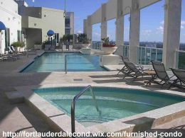 Furnished Condo For Rent Downtown Fort Lauderdale, Florida 33301 - 6-Month Minimum Lease - 1 Bed, 1 Bath