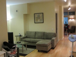 NO FEE, Fully furnished 1 bedroom condo in Downtown Manhattan-PRICE REDUCED